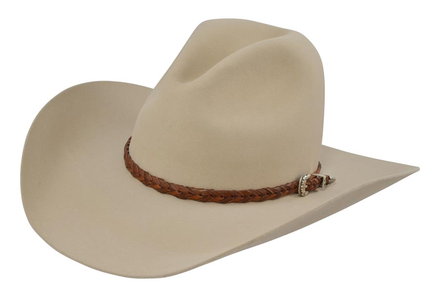 """a65da8b0fb7d51 A modified Boss of Plains called the Carlsbad commonly known as the """"Gus hat""""  was made popular in the western mini-series Lonesome Dove."""