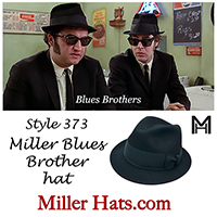 blues brothers fedora hats
